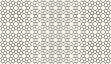 Abstract Seamless Islamic Geometric Pattern