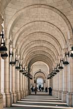Exterior Arches Of Union Stati...
