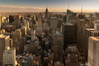 New York Panorama am Abend