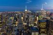 New York Panorama bei Nacht