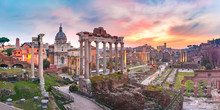 Ancient Ruins Of Roman Forum A...
