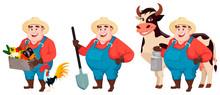 Fat Farmer, Agronomist, Set Of...