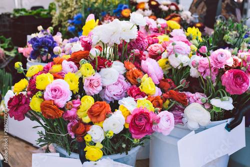 Farmers Market Flower Bouquets