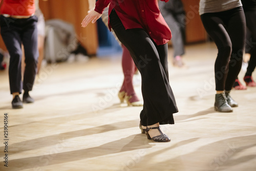 Spoed Foto op Canvas Dance School Dancing