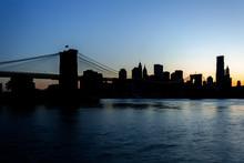 Manhattan And The Brooklyn Bri...