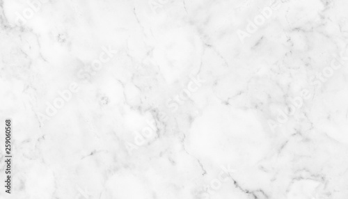 The luxury of white marble texture and background for design pattern art work. Marble with high resolution - 259060568
