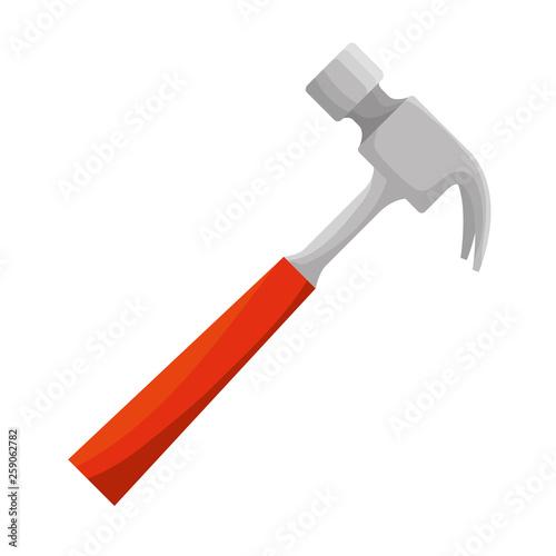 Cuadros en Lienzo hammer tool isolated icon