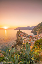 View Of Vernazza. One Of Five ...