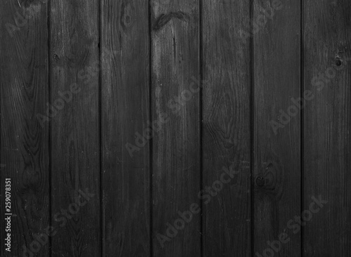 Fototapeta Old dark wooden wall, detailed background photo texture. obraz na płótnie