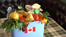 Food Waste In Trash Can. The P...