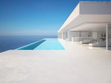 3D-Illustration. Modern Luxury...