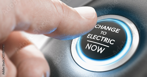 Change to Electric Vehicle Now #259107951