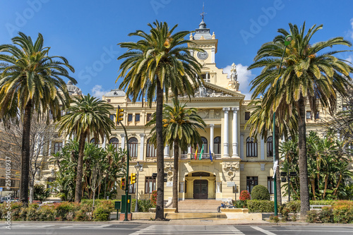 City Hall in Malaga