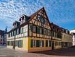 Fachwerkhaus in der Altstadt von Neustadt an der Weinstraße in Rheinland-Pfalz, Deutschland