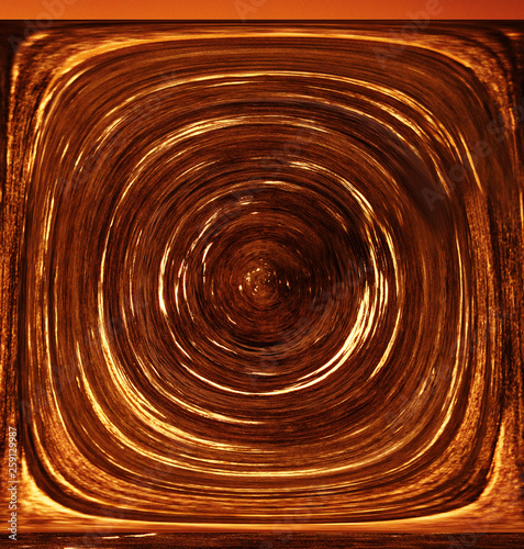 Three-Dimensional Abstraction. An existential vortex Canvas Print