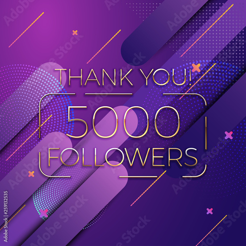 Thank You Followers Social Media Background Dynamic Wallpaper With