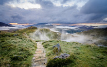 Snowdonia National Park Cloud Inversion- Wales, UK