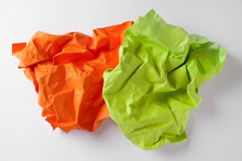 Composition Of Rumpled Paper S...