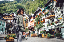 Young Girl In Hallstatt