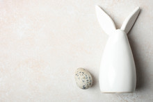 Decorative Easter Bunny And Qu...