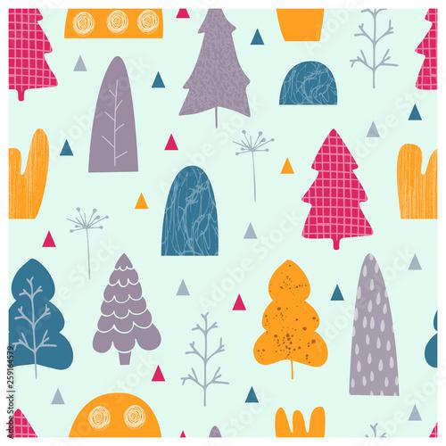 drzewa-ilustracji-wektorowych