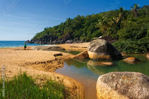 Valokuvatapetti Praia do Jabaquara IMG_4224