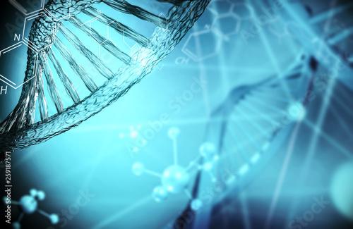 Fotografie, Obraz  DNA  Biotechnologie