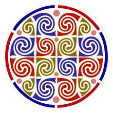 Knot Celtic Pattern, Isolated ...