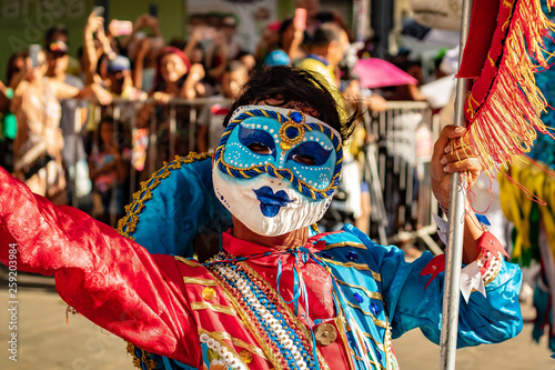 Fototapety, obrazy: Masked woman in Carnival in Recife