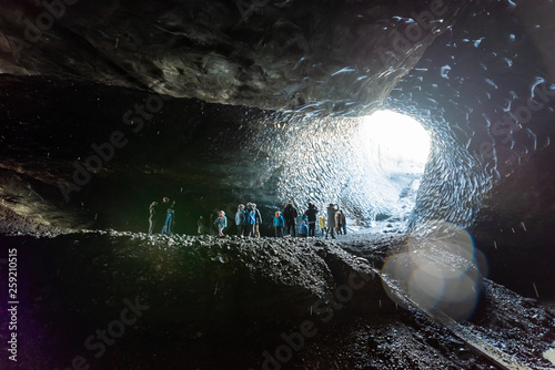 Fotografiet Icelandic ice cave