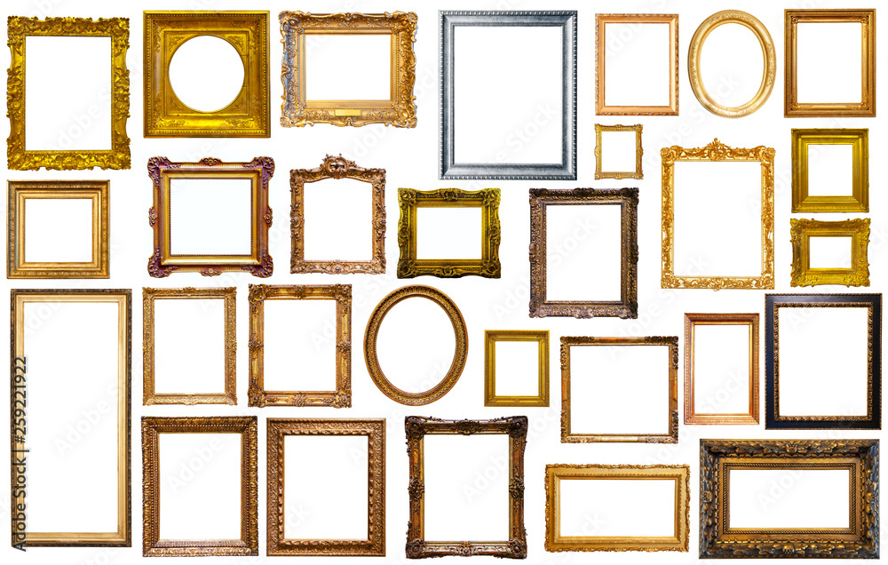 Fototapety, obrazy: collectrion of calssical art frames