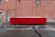 Red Dumpster