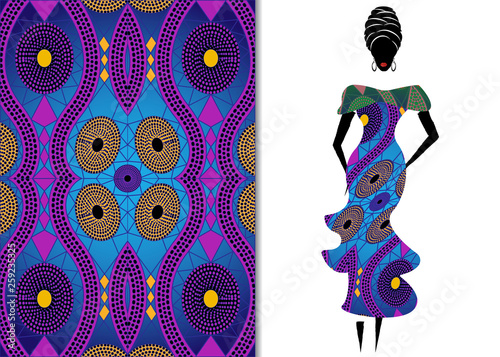 Ankara Clothing Woman African Print Fabric Ethnic Handmade Ornament For Your Design Ethnic And Tribal Motifs Geometric Elements Texture Afro Textile Dresses Fashion Style Pareo Wrap Batik Dress Buy This Stock