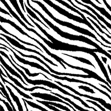 Zebra Stripes Tiling Print Bac...