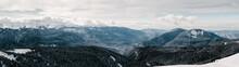 Mountain Range In Russia, Rosa...