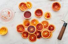 Sicilian Red Oranges.