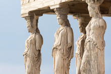 Detail Of The Erechtheion Temple