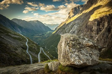 Słynna droga Trollstigen