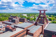 Aerial View Of Zollverein Industrial Complex In Essen, Germany