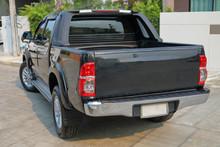 Black Pickup Vehicle Car