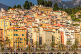 Buildings in Menton, South of France - 259298771