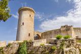 Bellver Castle fortress in Palma de Mallorca, Spain - 259298777