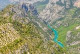 View of the Gorges du Verdon, France - 259298784