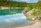 Lake in the Gorges du Verdon, France - 259298791