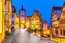 Rothenburg Ob Der Tauber, Bava...