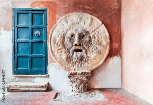 Rome, Italy - Bocca della Verita Wallpaper Mural