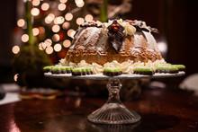 Christmas Turban Cake