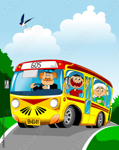 Recess Fitting Cars Bus ride