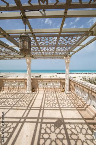 Fotografia outdoor space in the resort,gazebo