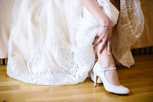 Women's Wedding Shoes, Close Up